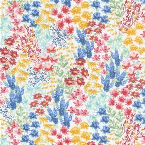 Wilmington Prints  Garden Charm - Flower Field Cream