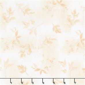 Wilmington Prints  Garden Charm - Leaves Cream