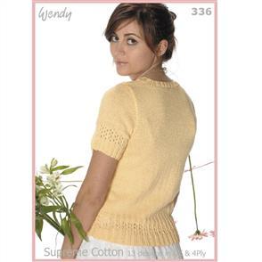 Wendy  Supreme Cotton Pattern Book 336