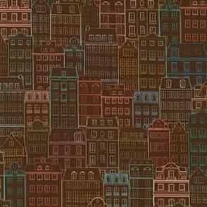 Robert Kaufman  Happy Place - WELD-19456-92 TERRACOTTA