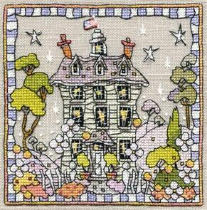 Michael Powell White House Cross-Stitch Chart
