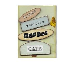 Georgina Jane Designs Word Embellishment Pack