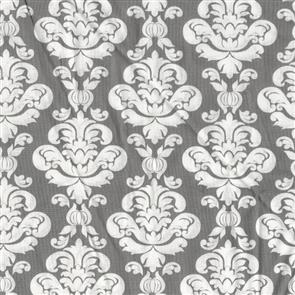 Wilmington Prints  Bliss - Damask Grey