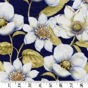 Wilmington Prints  Indigo Nature - 44037 Navy