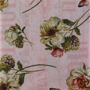 Wilmington Prints  Marche De Fleur - Large Floral Pink