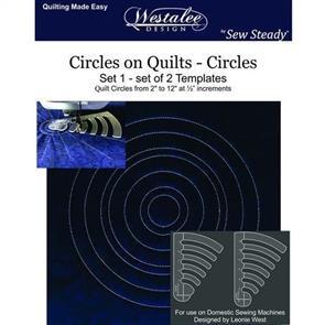 Westalee  - Circles on Quilts - Set 1 - LS