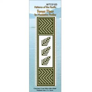 Lyn Manning  Cross Stitch Kit Bookmark - Forest Floor