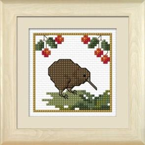 Lyn Manning  Lynn Manning's Cross Stitch Kit: Kiwi