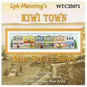 Lyn Manning  Cross Stitch Kits - Main Street Shops