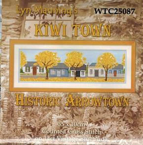 Lyn Manning  Cross Stitch Kits - Historic Arrowtown
