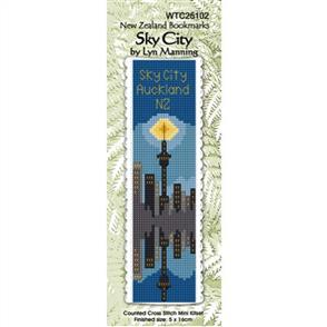 Lyn Manning  Bookmark Cross Stitch Kit: Sky City