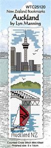 Lyn Manning  Bookmark Cross Stitch Kit: Auckland