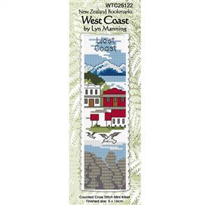 Lyn Manning  Cross Stitch Kit Bookmark - West Coast