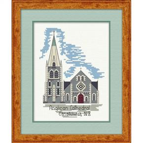 Lyn Manning  Cross Stitch Kit - Anglican Cathedral