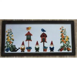 MISC  Madeleine Findley Cross Stitch Kit: Gnomies