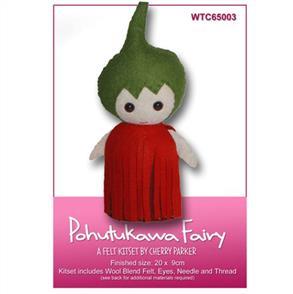 CraftCo  Pohutukawa Fairy - Felt Kit Set