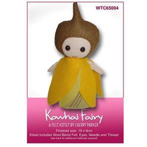 CraftCo  Kowhai Fairy - Felt Kit