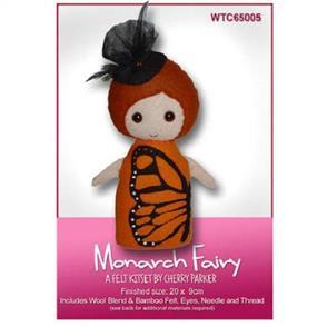 CraftCo  Monarch Fairy - Felt Kit Set