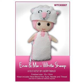 CraftCo  Ewe & Me - White Sheep