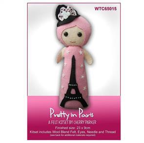 CraftCo  Pretty in Paris Fairy - Felt Kit