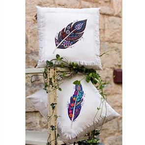 Wendy Williams Pattern - Feather Pillows