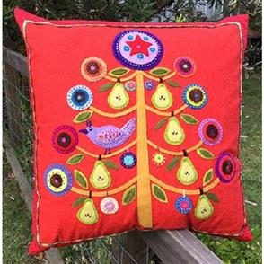 Wendy Williams  Pattern - Partridge in a Pear Tree