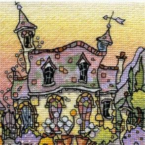 Michael Powell  Mini Cross Stitch Kit: Yew Tree Chapel