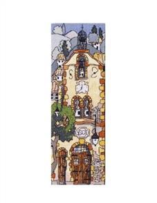 Michael Powell  Cross Stitch Kit: Church 1