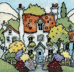Michael Powell  Cross Stitch - Myrtle Cottage