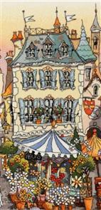 Michael Powell  Cross Stitch Kit: Place du March I