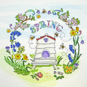 Bothy Threads  Cross Stitch Kit - Spring Time