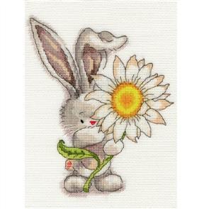 Bothy Threads  Cross Stitch Kit - Daisy