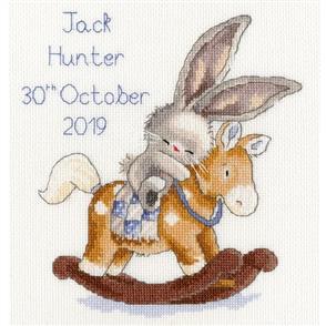 Bothy Threads  Cross Stitch Kit - Rock A Bye Bunny