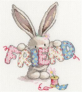 Bothy Threads  Cross Stitch Kit - Bebunni & Friend