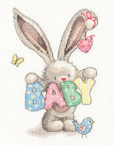 Bothy Threads  Cross Stitch Kit - Bebunni - Baby