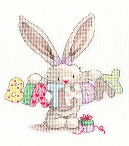 Bothy Threads  Cross Stitch Kit - Bebunni – BIRTHDAY
