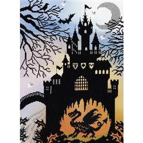 Bothy Threads  Cross Stitch Kit - Enchanted Dragon Castle