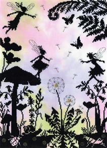 Bothy Threads  Enchanted: Fairy Glade - Cross Stitch Kit