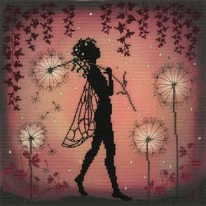 Bothy Threads Cross Stitch Kit - Dandelion Fairy
