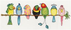 Bothy Threads  Exotic Birds - Cross Stitch Kit