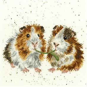 Bothy Threads  Cross Stitch Kit - Lettuce Be Friends