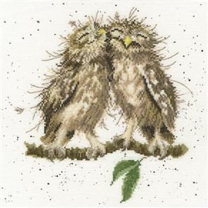 Bothy Threads  Cross Stitch Kit - Birds Of A Feather