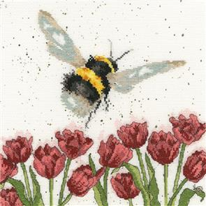 Bothy Threads  Cross Stitch Kit - Flight Of The Bumblebee