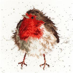 Bothy Threads  Cross Stitch Kit - Jolly Robin