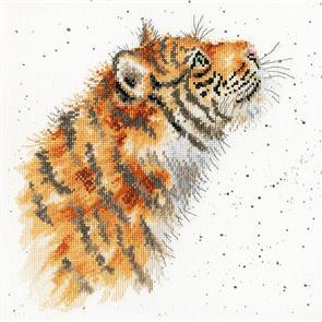 Bothy Threads  Cross Stitch Kit - Moonglazer - Tiger
