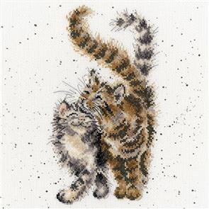 Bothy Threads  Cross Stitch Kit - Feline Good - Cat