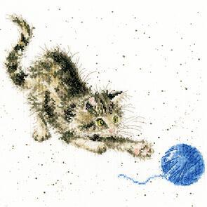 Bothy Threads  Cross Stitch Kit - Kitty