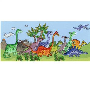 Bothy Threads  Dinosaur Fun - Cross Stitch Kit