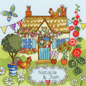 Bothy Threads Cross Stitch Kit - Our House