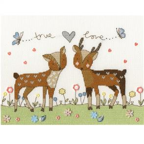 Bothy Threads  Cross Stitch Kit - Love You Deerly